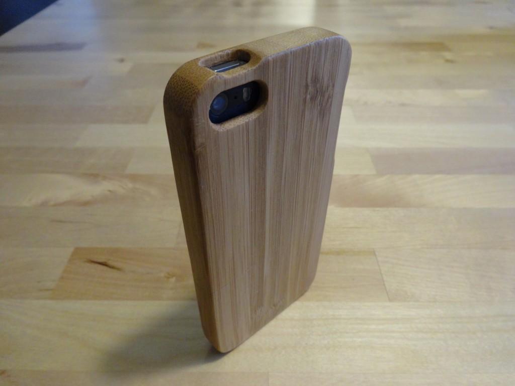 iPhone5用木製ケース