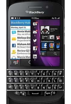 BlaBlackberry Q10