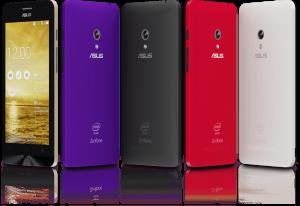 Asus zenfone-design