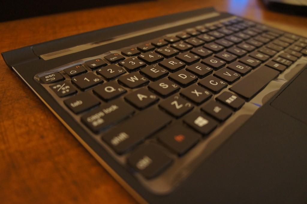 なんとなくかっこいいかと思ってキーボードをとってみる。