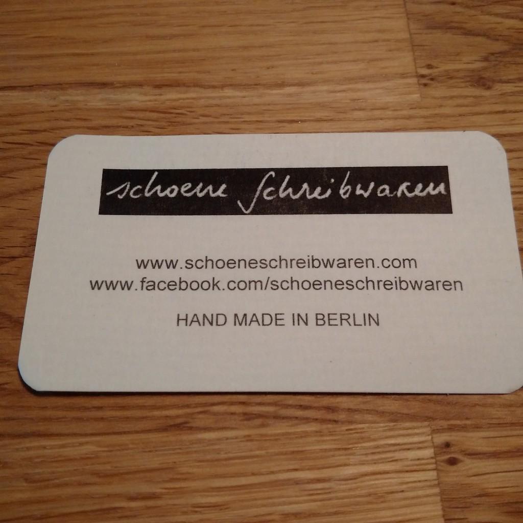 どうやら全てHand made in Berlinなもよう。こういうのいいよね。