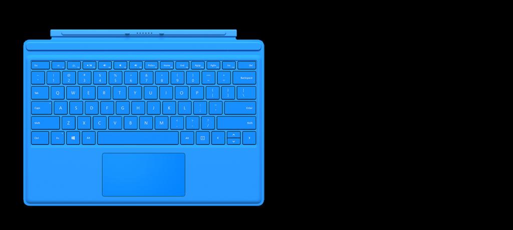 今回のSurface4と同時に発売された新型Surface用キーボード。アイソレーション型になって、どうやらタイピングのタッチが劇的に向上しているレビューがちらほら。