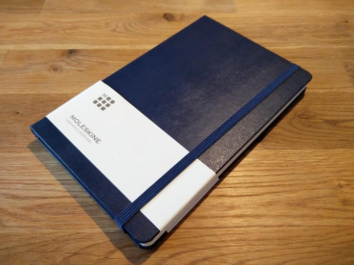 そう、Moleskinのノートです。