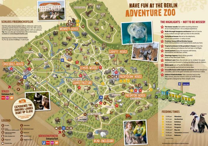 これが園内の地図。御覧の通り、めっちゃ広い。なのでかなり気合入れて回らないと全部回るのは不可能かと(特に子供同伴だと絶対無理!)