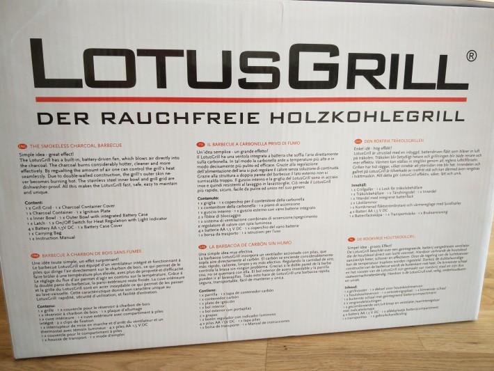 2.ヨーロッパ仕様なので、箱には6つの言語が。