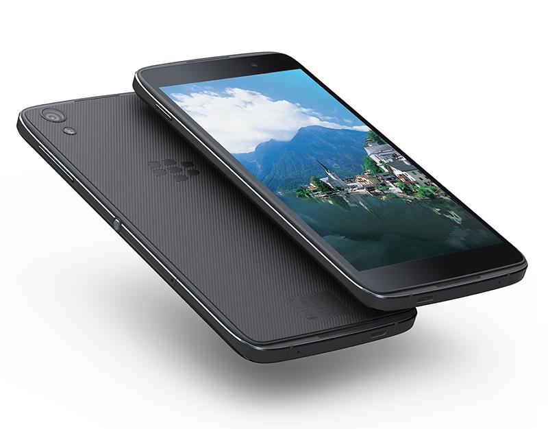 完全OEMとなり、Androidを搭載したDTEK50。物理キーボードもなく、もはや普通のスラブ型スマホでしかない。。
